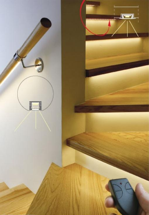 Basement Stair Ceiling Lighting: LED Stair Lights