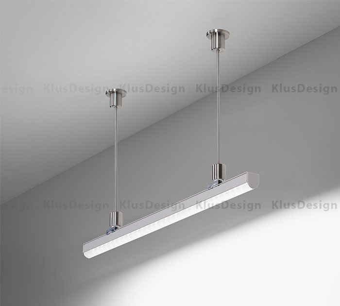 REGULOR_Suspended & Brighten Any Room With KLUS Suspended LED Lighting Fixtures azcodes.com