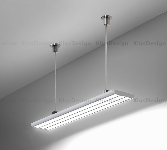 TRIADA_suspended & Brighten Any Room With KLUS Suspended LED Lighting Fixtures azcodes.com