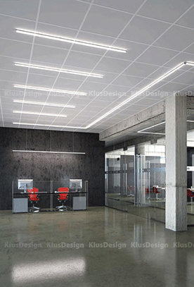 Led Lighting For Office Spaces Klus Design