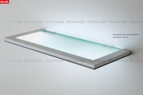 LED Edge Lighting of Glass Panes or Plastics