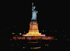 New LED Lighting System for the Statue of Liberty