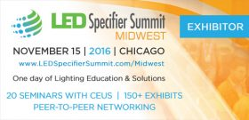 KLUS LED Lighting Products On Display At The LED Specifier Summit Midwest
