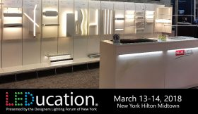 KLUS LED Lighting Designs Featured At The LEDucation Event In New York City