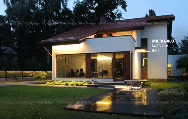 Enjoy Beauty & Efficiency With KLUS Home Exterior LED Lighting