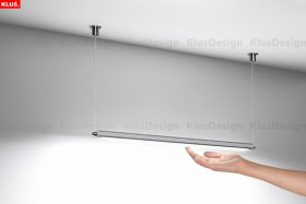 Brighten Any Room With KLUS Suspended LED Fixtures