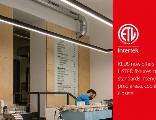 KLUS Now Offers ETL SANITATION LISTED LED Light Fixtures